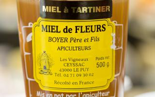 MIEL DE  FLEUR A TARTINER