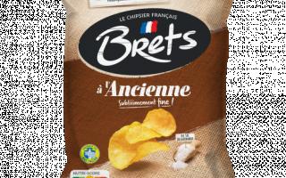 Chips craquante fleur de sel (125gr)