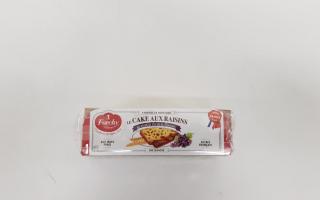 Cake au raisins et hum des Antilles (275gr)