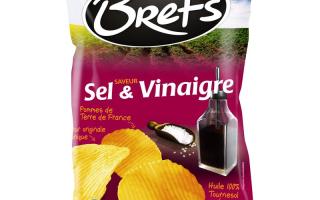 Chips sel vinaigre Brets (125 gr)