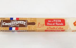 Pâte à pizza Croustipate (230gr)