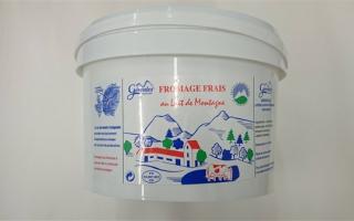 Fromage blanc 40% MG gérentes (sceau de 3 kg)