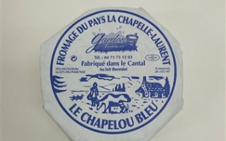 Fromage de la Chapelle Laurent Bleu  en demi (450gr)