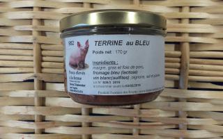 TERRINE AU BLEU (170 gr)