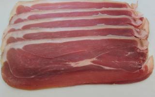 jambon cru d'Auvergne  IGP 9 mois