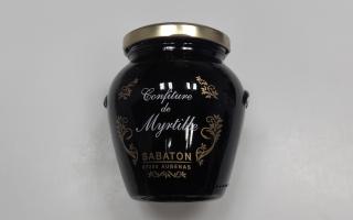 CONFITURE MYRTILLE ardeche 350 gr