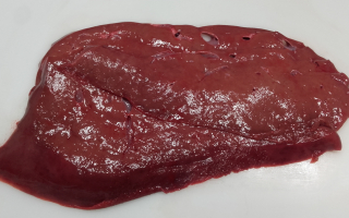 foie de veau 2 tranches 400 grs
