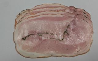 jambon de porc italien   roti aux herbes 4 tranches 350 grs