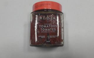 TOMATES SECHEES  confit 120 gr