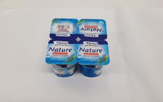 Yaourt nature nova lait entier x4