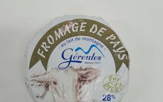 Fromage de brebis Gérentes (400gr)