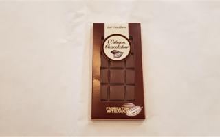 chocolat Noir 85% côte d'ivoire l'artisan chocolatier (100gr)