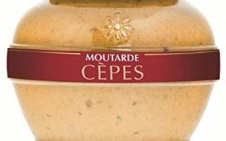 Moutarde aux cèpes (200ml)