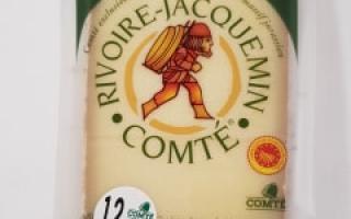 Comté AOP 12 mois minimum rivoire-jacquemin (200gr)