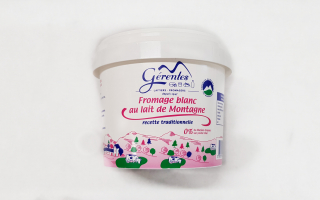 Fromage blanc 0% MG gérentes (sceau de 1 kg)