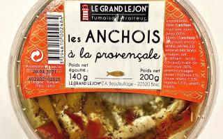Les Anchois Provençale 200gr