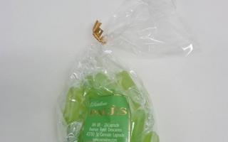 bonbons à la verveine acuidulés