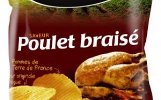 Chips Bretz poulet braisé (125gr)
