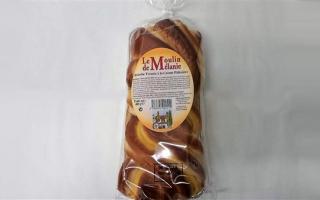 brioche tressée vanille pépites de chocolat(400gr)