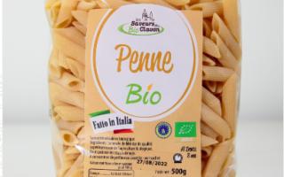 macaronis BIO aux oeufs (500gr)
