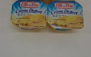 Crème dessert vanille (4x125gr)