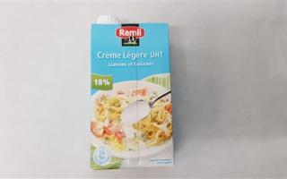 Crème 18% MG Ramli la brique de 1L