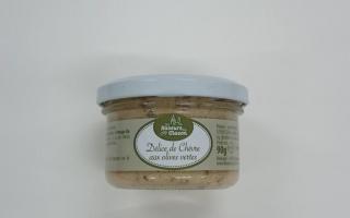 Délice de chèvre à l'olives vertes (90gr)