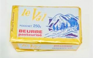Beurre Le Val plaquette de 250 Gr