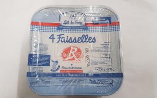 Faisselles du Forez label rouge x4 (800gr)