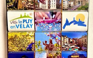 """Chocolats 90gr """"Le Puy en Velay"""""""