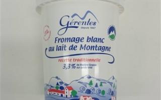 Fromage blanc 20% MG gérentes (pot de 500 Gr)