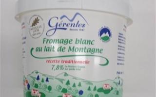 Fromage blanc 40% MG gérentes (sceau de 1 kg)