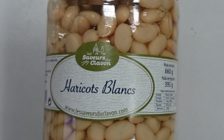 Haricots blancs (720ml)