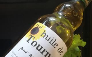 huile de tournesol bouteille 75cl