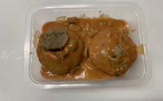 gateau de foie de volaille x 2 pièces environ 600 gr le paquet