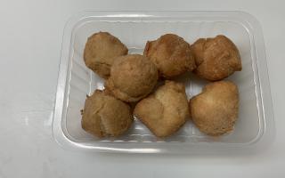 pommes dauphines x 7 pièces  paquet environ 200gr
