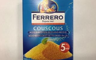 COUCOUS 500 GR