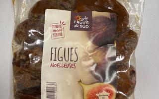 FIGUE SECHE  moelleuses pqt 500 gr