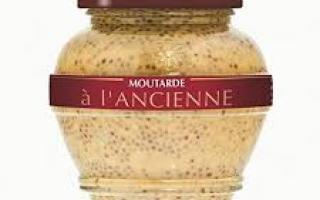 Moutarde à l'ancienne (200ml)