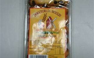 Madeleines aux raisins (250gr)