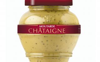 Moutarde au châtaigne (200ml)