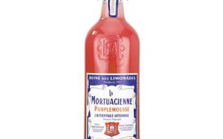 Limonade pamplemouse artisanal 1l