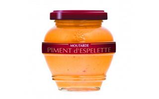 Moutarde au piment d'espelette (200ml)