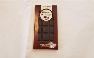 chocolat noir cameroun 66% l'artisan chocolatier (100gr)