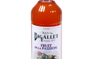Sirop fruit de la passion bigallet 1l