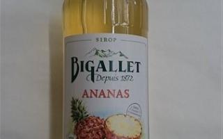 Sirop ananas bigallet 1l