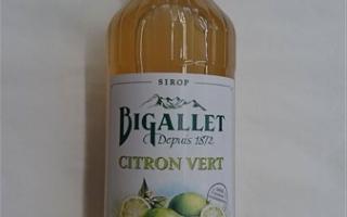 Sirop citron vert bigallet 1l