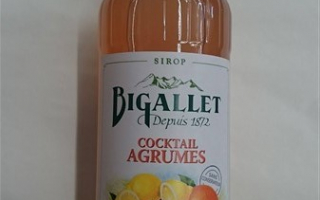 Sirop cocktail d'agrume bigallet 1l