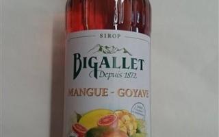 Sirop mangue goyave bigallet 1l