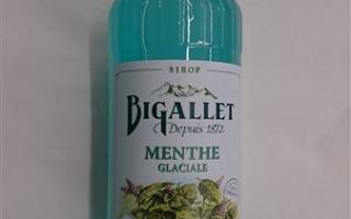 Sirop menthe glacial bigallet 1l